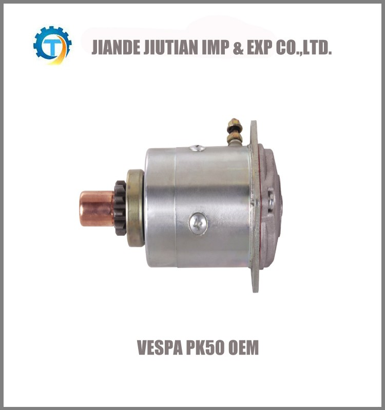 VESPA PK50 OEM in CCW motorcycle starter motor for Europe Market