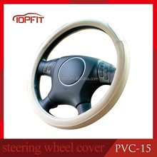 4-Spoke Wheel Type and PU,leather,PVC Material car steering wheel cover for Audi corolla camry 2015 Buick BMW midium size