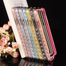 For Samsung Galaxy Note 3 N9000 Wholesales Diamond Glitter Hard Aluminum Metal Bumper Frame Case