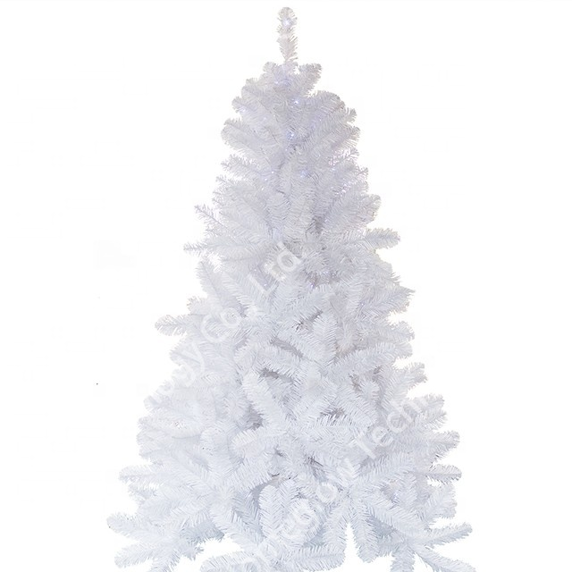 High quality popular small indoor white pvc artificial <strong>Christmas</strong> /xmas tree with lights