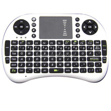 mini rechargeable wireless keyboard with touchpad KW-008