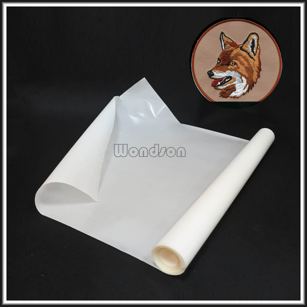 Polyamide Embroidery Logo Hot Melt Adhesive Glue Film for Shoes Footwear Fabric
