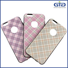 [GGIT] Wholesale Sipmle Life Checkered Pattern Design TPU Mobile Phone Case for Iphone 6