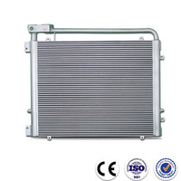China high performance plate fin aluminum radiator for car