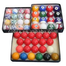 colorful cue Balls for pool table