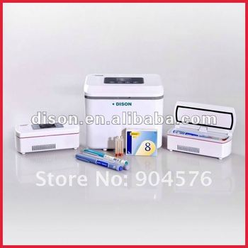 Small home appliance, 2~8'C Mini Medical Fridge protect insulin in safe Temp 540g