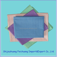 100% combed / carded Cotton woven fabric