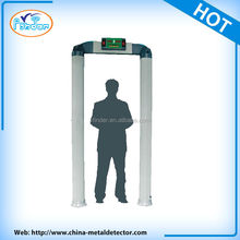 2015 hot sale digital walk through metal detector arco detector de metales