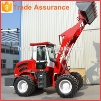 High quality HR930F Mini Garden Tracktor Backhoe Loader Ride On Trencher