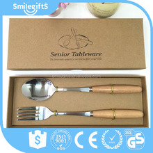 High Quality Spoon And Fork Stainless S Spoon Knife Children Fork And Spoon Two Piece Set