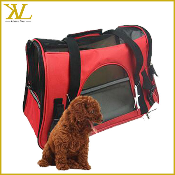 Dog Cat Stylish Portable Outdoor Travel Pet Bag, Pet Bag Carrier Tote Bag