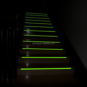 glow photoluminescent stair nosing