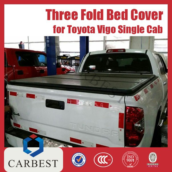 High Quality BAK Pickup Tonneau Cover for TOYOTA Vigo Hilux Single Cab 2014