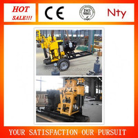 Water Well Drilling and rig machine, 200m MT-200Y horizontal wood drilling machine