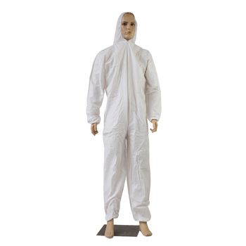Disposable Microporous Safety Protective Clothing Food Industry Painting Laboratory Work Coverall
