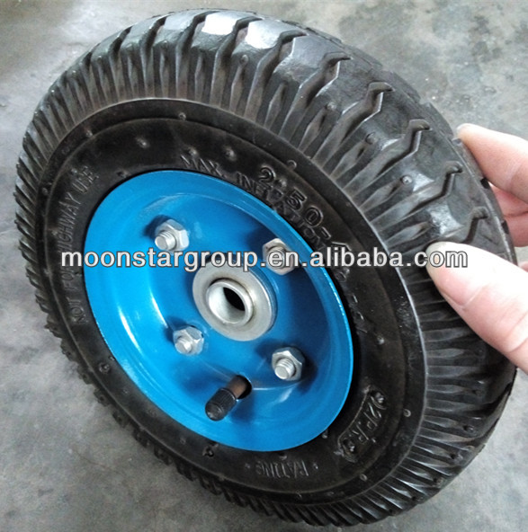 3 inch solid small rubber wheels
