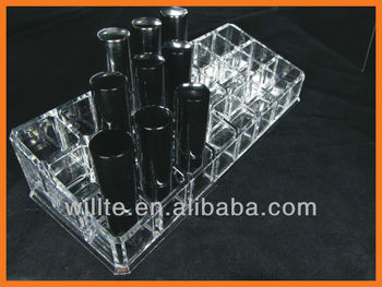 3 tier acrylic lip gloss display 24 holder wholesale