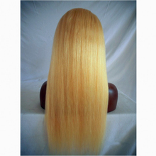 wholesale virgin indian hair honey blonde full lace wigs for black women
