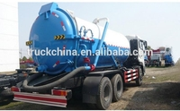 Dongfeng 4x2 sewage suction truck vacuum truck sale