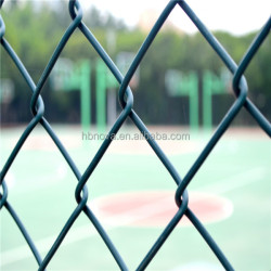 Hebei NOVA galvanized chain link fence PVC coated chain link fence decorative garden fencing