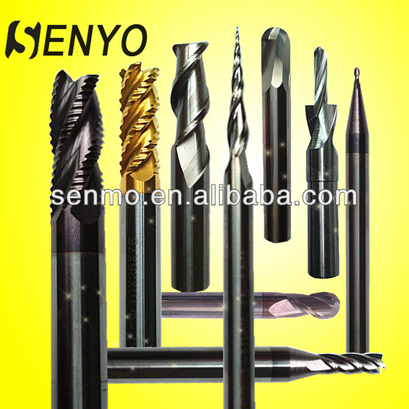Tungsten Carbide Wood Finishing Tool/End Mill Set/EndMill Drill Bits