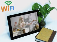 Hot 12.1inch Android 4.4 digital lcd monitor support WIFI bluetooth for supermarkets