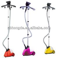 601A Single Power Button Easy Operating Professional Colorful Vertical Home Appliance 2013 best garment steamer offer