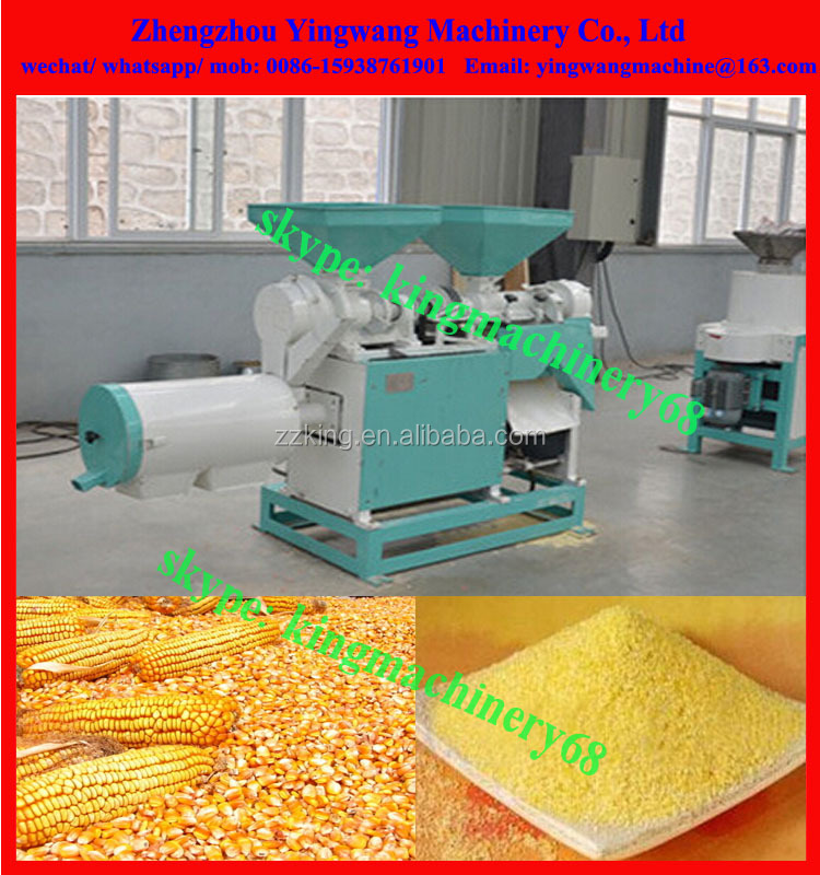 corn/ maize grits machine