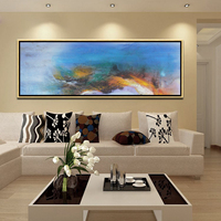 new product wall art frame abstract oil painting on canvas PSB-005
