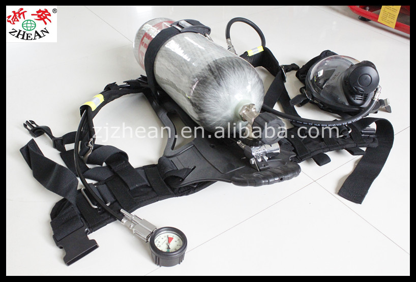 Fire Fighting Air Breathing Apparatus SCBA RHZKF 6.8/30