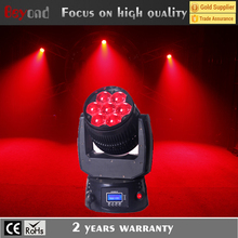 High power 15 watt 4-in-1 led wash moving head zoom effect led stage light mixer