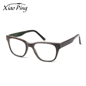 wholesale new model no brand ce wooden optical glasses frame eyewear