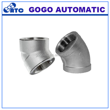Ningbo factory Discount stainless steel female threaded elbow