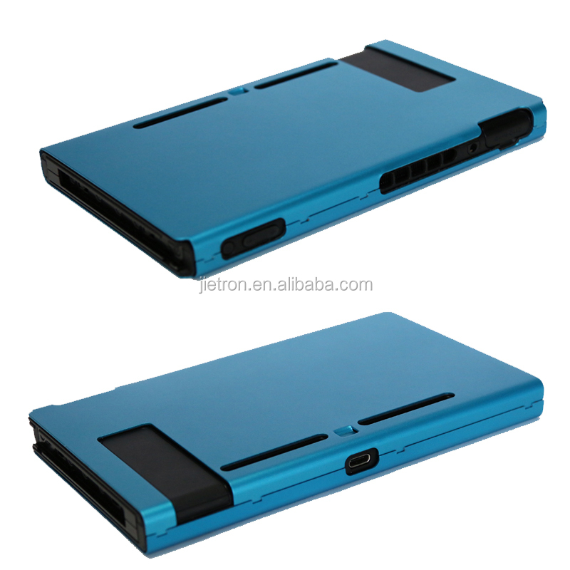 Aluminum Protective Case Shells For Nintendo Switch (Sliver, Black,Red,Blue)