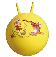 45cm Good sale colorful pvc exercise jumping ball toy jumping bounce ball with handle ball