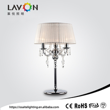 touch wholesale fancy power outlet led table lamp for hotel