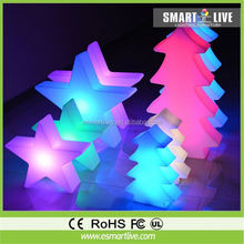 led solar lawn light with butterfly/christmas tree/star