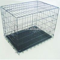 dog cage with grid