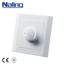Naling OEM Professional 3 Speed Rotary Fan Speed Control Wall Switch Fan Controller