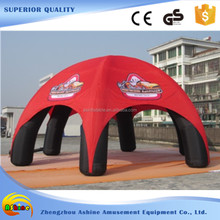 6 legs 8m advertising spider tent air shade inflatable dome