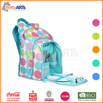 convenient durable picnic backpack for 4