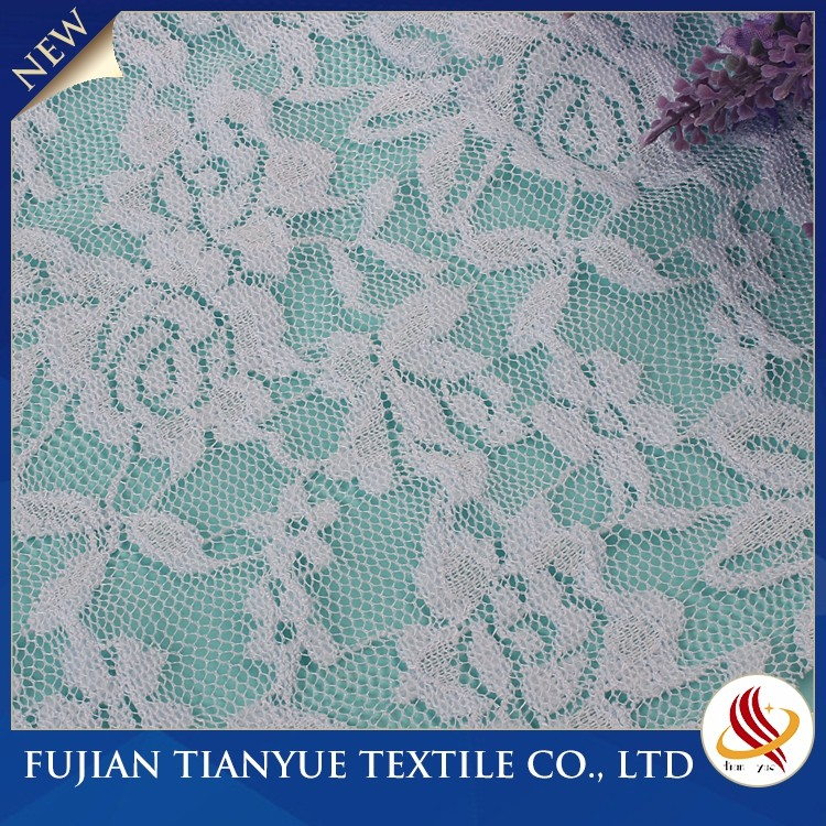 Woman New Design Polyester Voile Nigeria Hand Cut Swiss Lace Fabrics