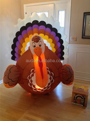Hot sale Thanksgiving inflatable turkey/inflatable turkey models WF239