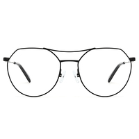 New Style spectacles design latest designer metal optical frame frames and glasses wholesale made in China