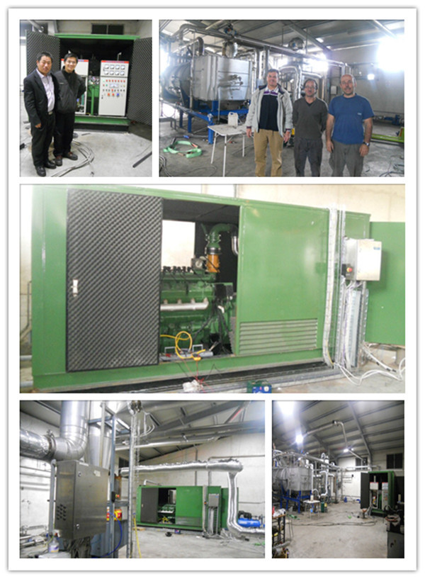 Factory price list biogas generator 10KW - 700KW biogas generator for sale