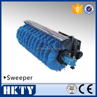 Sweeper for skid steer loader