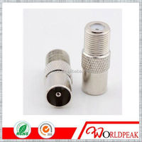 Brass and Zinc alloy pitch auto IDC f connector