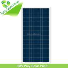 Hot sale 50W Swimming Photovoltaic Polycrystalline Solar Panel