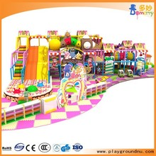 Child Play Zone Indoor Playground Two Floors Kids Plastic Naughty Castle for sale