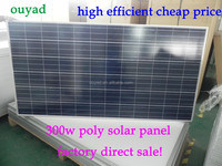 HOT!!! factory direct sale 45w~300w solar panel cheap price high quality